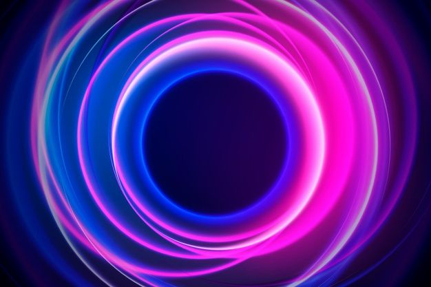 Download Abstract Neon Lights Background Style For Free Neon Wallpaper Glowing Background Abstract
