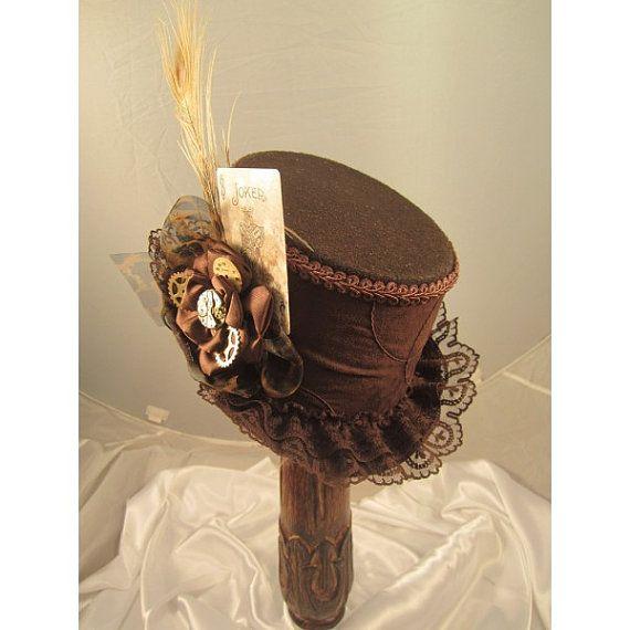 STEAMPUNK hoge hoeden Steampunk Shop Steampunk door EmilyWayHats
