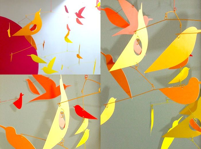 MOBILE BIRDS by Katsumi Komagata