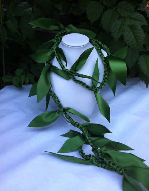 Ribbon Ti Leaf Lei                                                                                                                                                      More