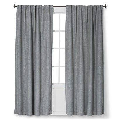 Blackout Curtains For A Blue And Gray Bedroom Threshold