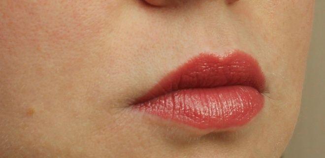 Моя самая осенняя помада Rouge Dior Nude Lip Blush Voluptuous care №683 Esquisse