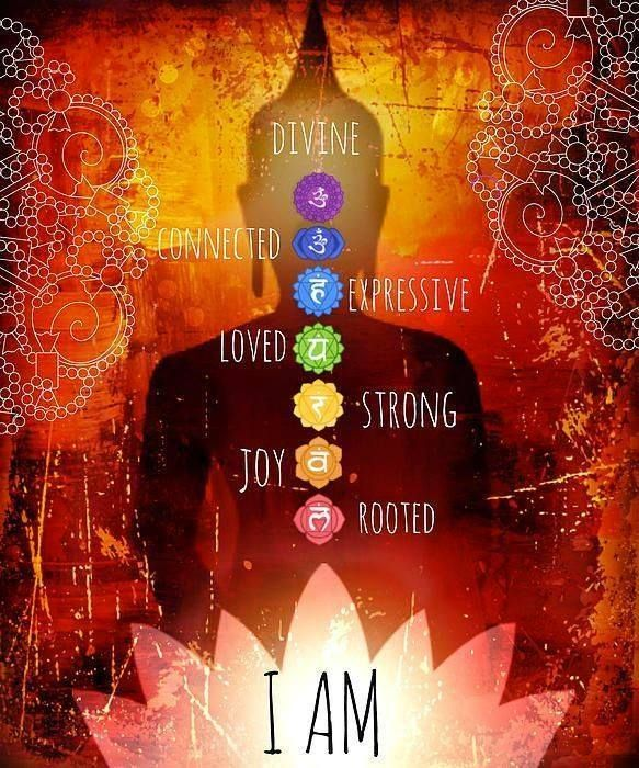 "This is the BEST ""I AM"" image I have seen so far in this journey. It simplifies life that I tend to over complicate!"