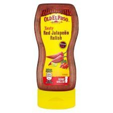 Old El Paso Squeezy Red Jalapeno 320g
