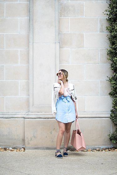 Fashion Trend Hack | Button Down Shirt Dress