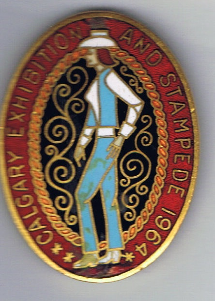 1964 Calgary Stampede Companion pin