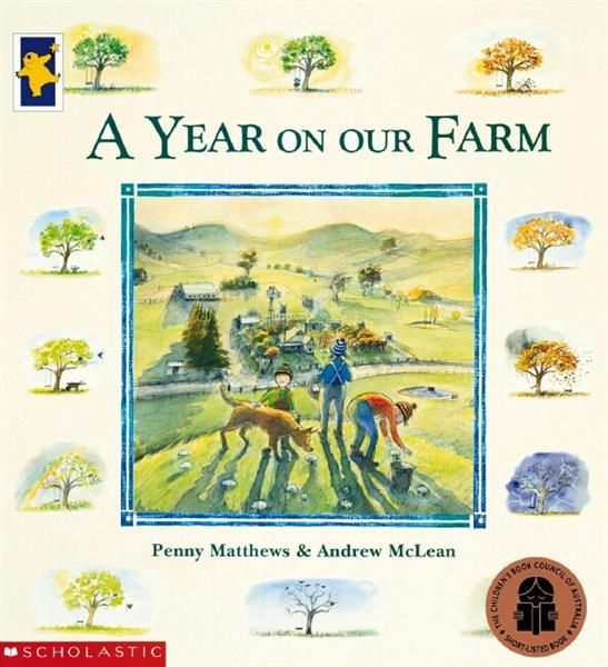 Life on a small Australian farm seen through the eyes of the children who call it home. Beautiful watercolour, easy-to-read text.