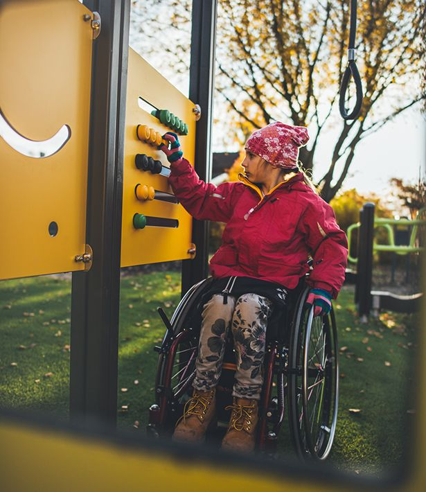 An inclusive Playground is perfect for everyone, read the blog from our website! :)