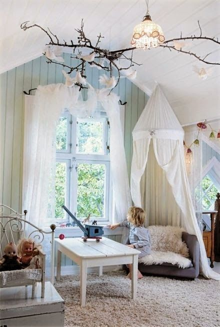 Such a whimsical space.