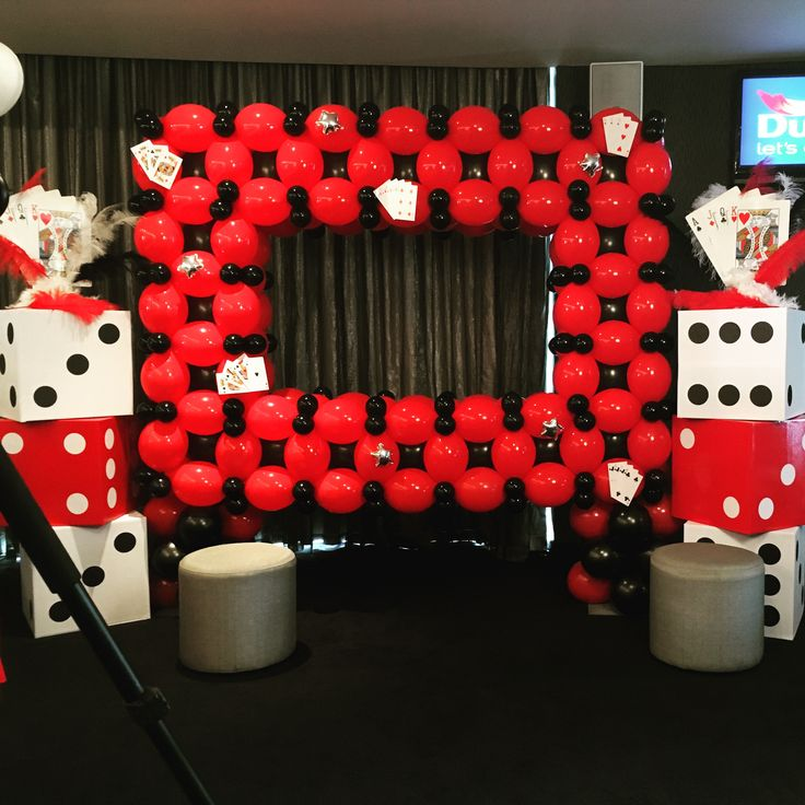 Vegas Theme Photobooth By Mallows & Moët Décor and Events