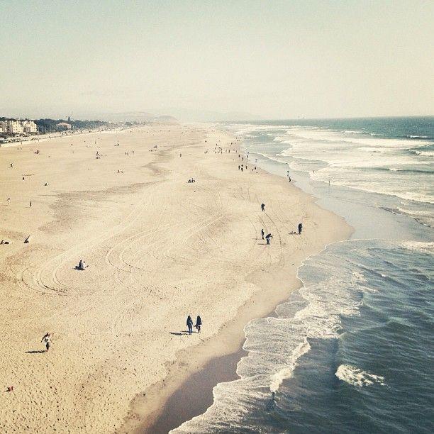 ocean beach. sf, ca.