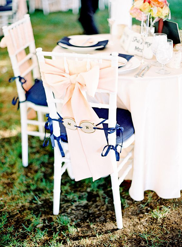 Mr + Mrs chairs // event styling by Gracie Lou Events, photo by Mandy Mayberry
