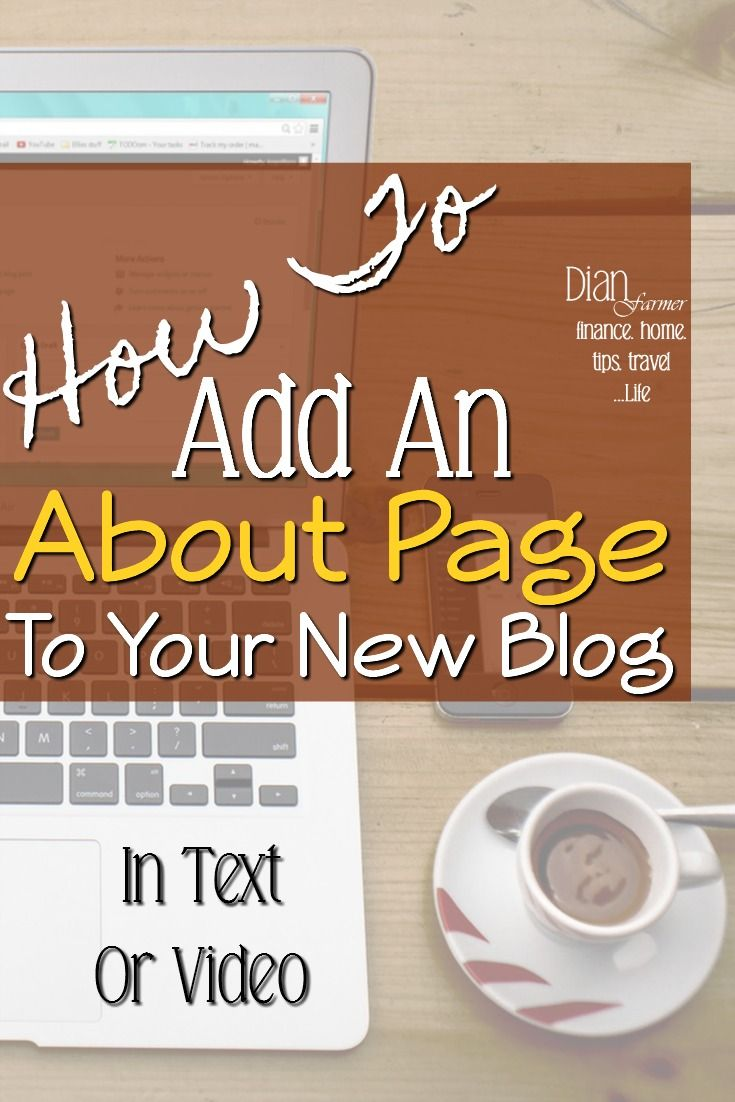 Adding An About Me Page To Your New Blog  https://dianfarmer.com/adding-an-about-me-page-to-your-new-blog/  . . . . . . . #blog #blogs #blogg #bloggerslife #lifestyle #lifestylebloggers #budgeting #budgetblogger #budgetliving #DianFarmer #tips #ontheblog #lifestyleblog #lifestyleblogger #weeklyresources #financialliteracymonth #Finances #financetips #moneymanagement #blogpost #budget #budgetfriendly #debtfree #debtfreeliving #debtfreedom #personalfinances #howto #bloggingtip..