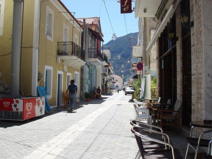 Mytikas village Ionian coast