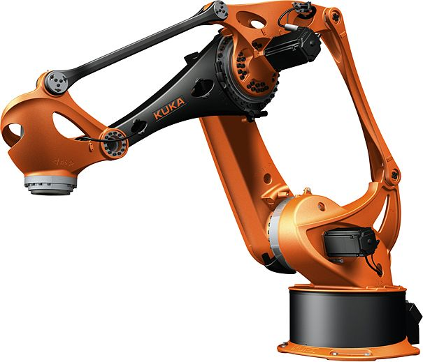Beautiful industrial robot                              …
