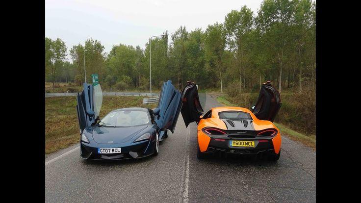 McLaren 570S & 570GT Sound & Fast take Off