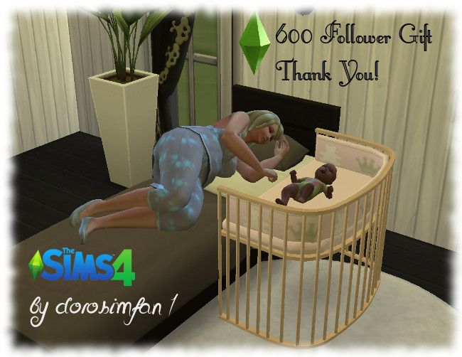 "3t4 Babycrib ""By my Side"""