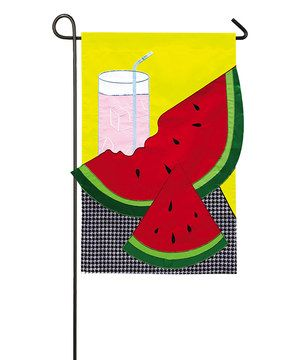 17 Best 1000 images about Garden Flags on Pinterest Initials Burlap