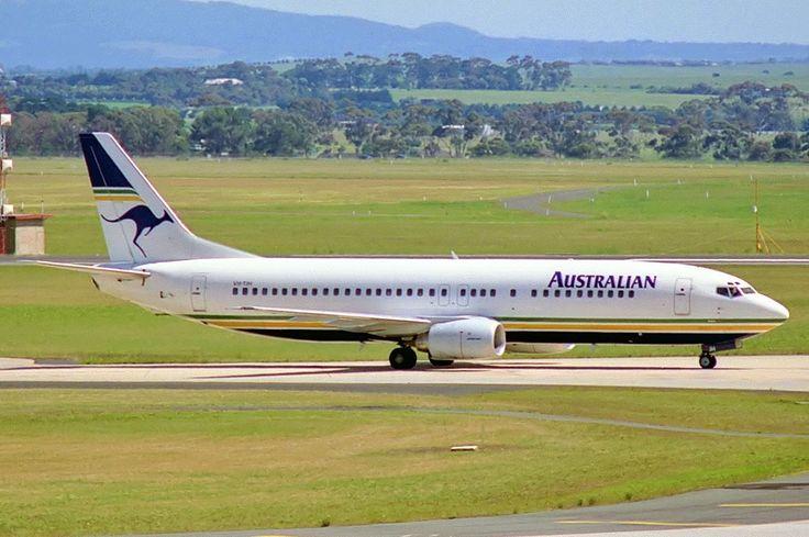 Australian Airlines Boeing 737-476 (VH-TAH)