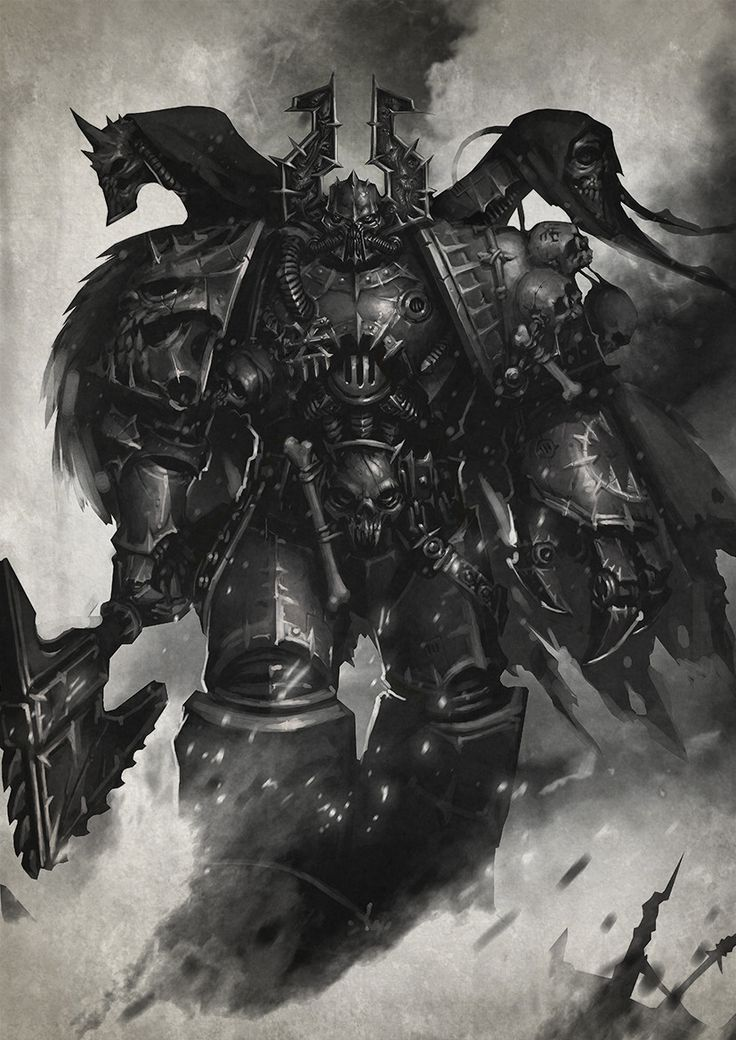 how to play chaos space marines
