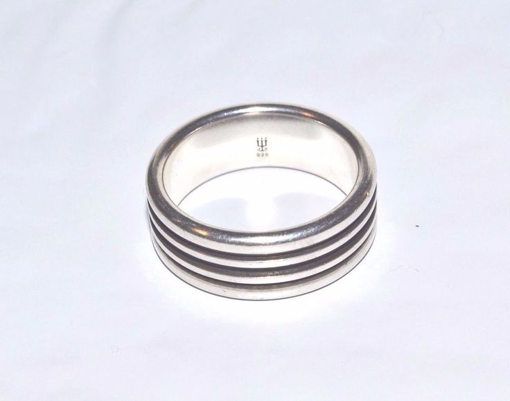 James Avery Sterling Men S Wedding Band Sz 10 Jamesavery