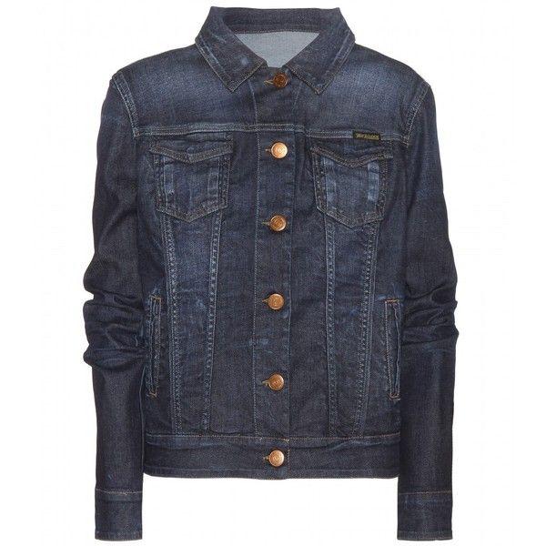 True Religion Dusty Western Denim Jacket ($205) ❤ liked on Polyvore featuring outerwear, jackets, takit, tops, coats & jackets, blue, cowboy jean jacket, western jean jacket, jean jacket and blue jackets