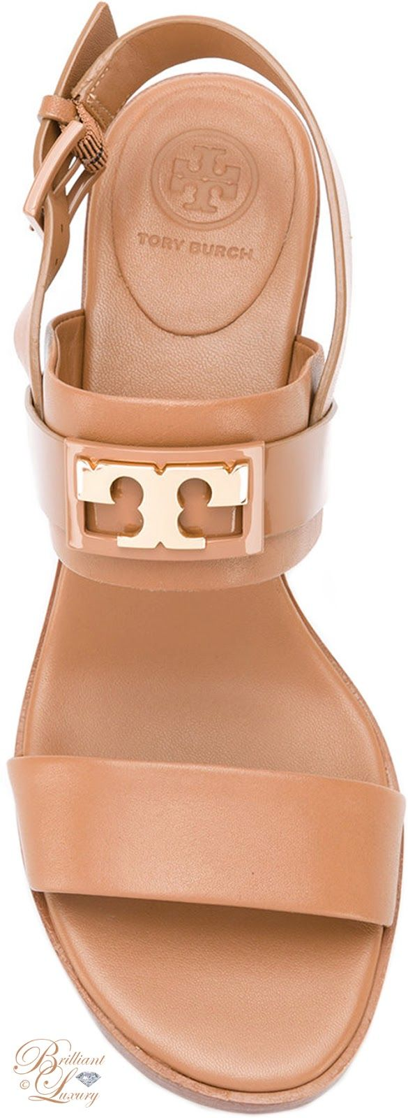 Brilliant Luxury by Emmy DE ♦ Tory Burch Chunky Heel Sandals