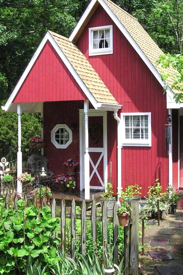 Creative Potting Shed transformation designs for your garden