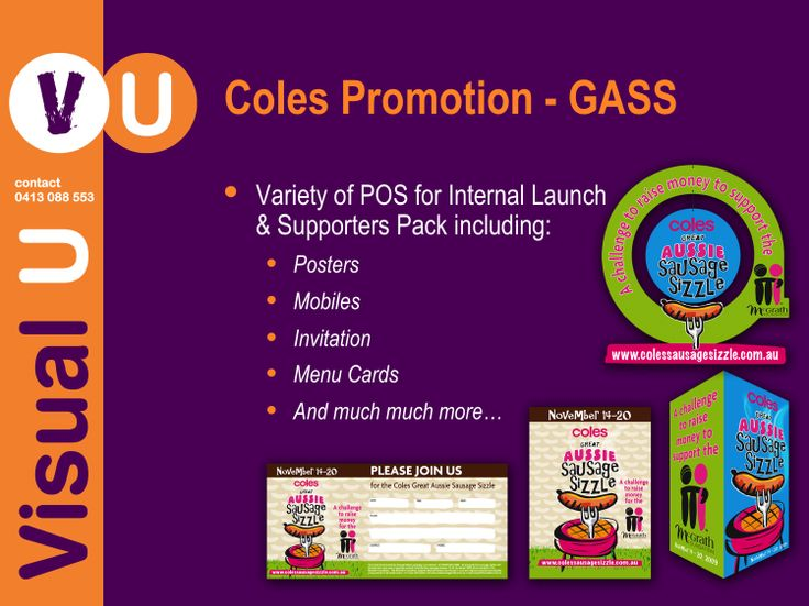 Visual U Coles Promotion _ GASS
