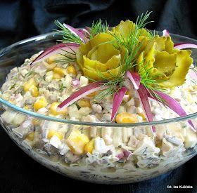 Smaczna Pyza - Sprawdzone przepisy kulinarne: Sałatka pieczarkowa