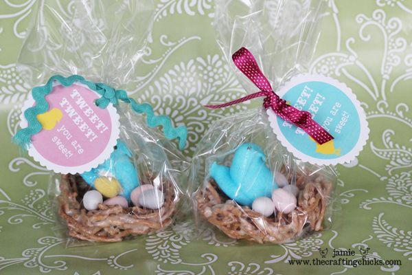 """{""""TWEET! TWEET!  YOU ARE SWEET!"""" Easter Treat Ideas"""