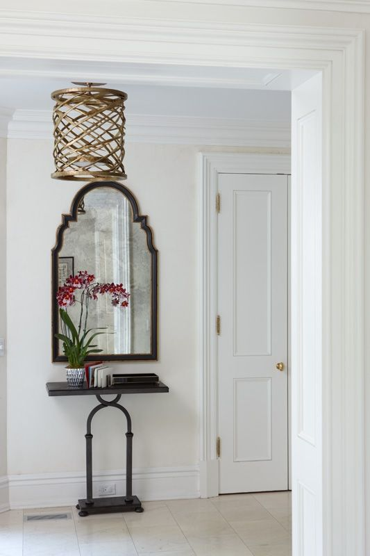 Foyer Colors Uk : Anne hepfer designs foyer with console by soane uk