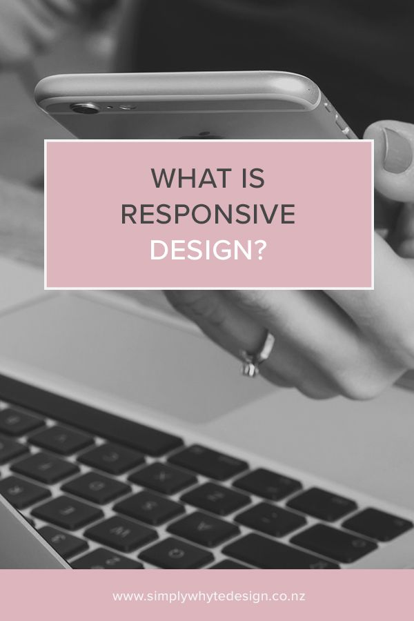 What is responsive design? https://www.simplywhytedesign.co.nz/news/what-is-responsive-design If your site doesn't resize to all your devices it may not be responsive and you could be discouraging potential clients and customers from staying on your site!