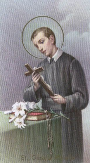 On May 1 our parish began a novena for those wishing to conceive. We will pray this for first nine days not only in May, but for the first nine days per month for the extended future. We are praying the Novena to St. Gerard, the patron of motherhood. If you have a heart for this issue, please join in our heavenly petition. Or perhaps you know one who might find consolation in this prayer? If so, please consider passing this along.