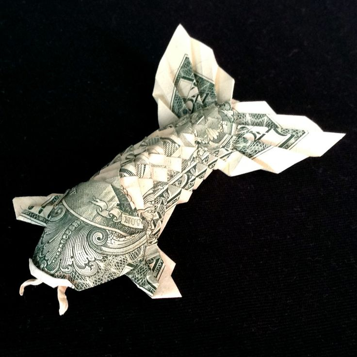 17 best images about gift it on pinterest gift card On dollar bill origami fish