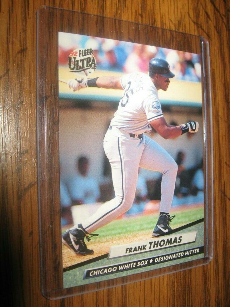 MINT 1992 Fleer Ultra 44 Frank Thomas Baseball Card Mint