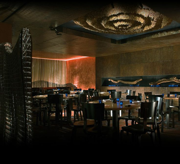 Luxury Japanese Cuisine with Modern Restaurant Interior Design of Nobu Fifty Seven, NYC