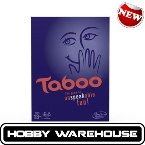 Genuine-Hasbro-Classic-Taboo-Game-A4626-The-game-of-unspeakable-fun