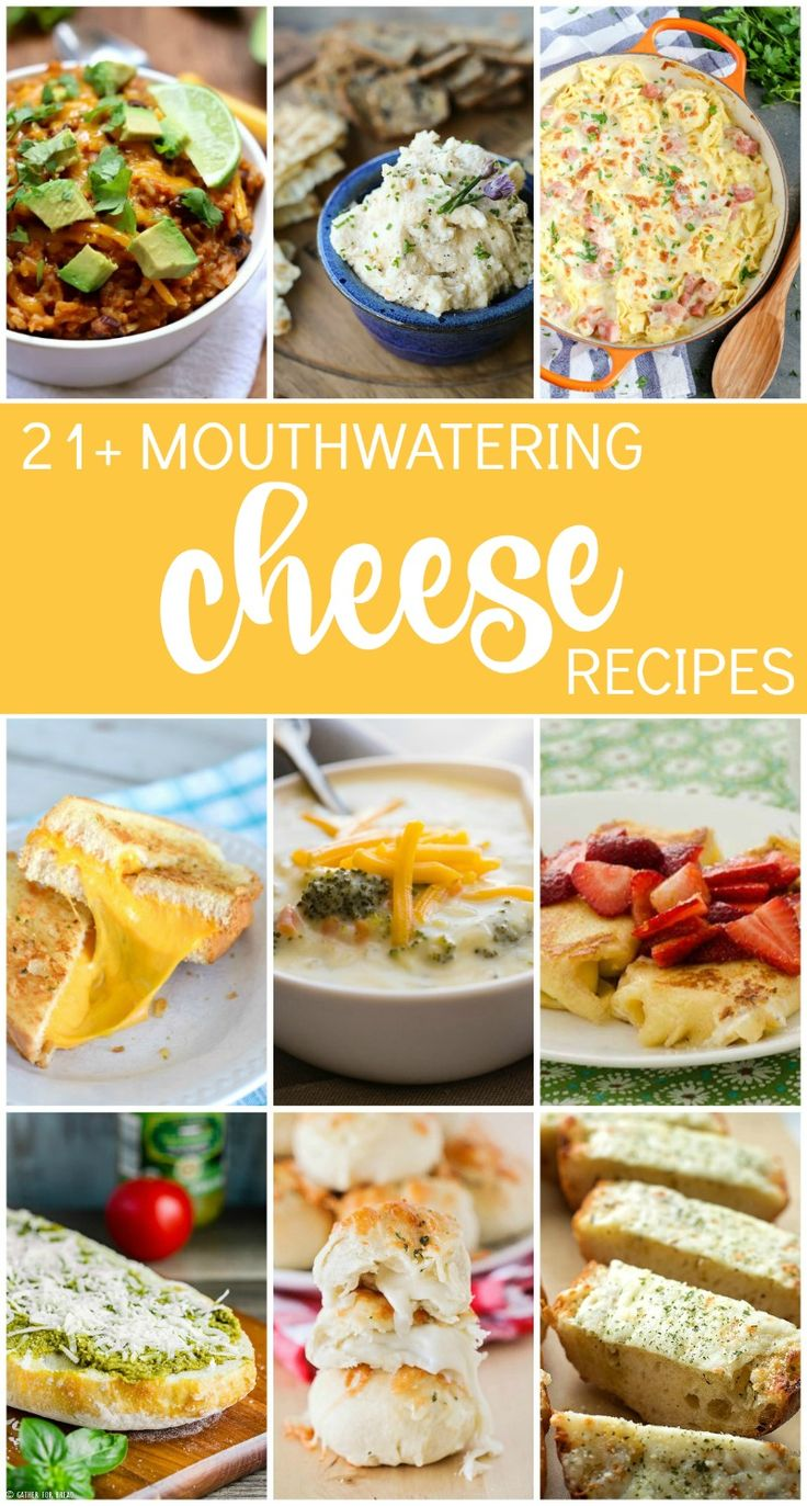 21 mouthwatering cheese recipes, perfect for celebrating National Cheese Day! || The Baker Upstairs