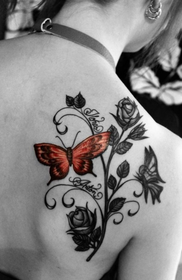40 adorable ideas of tattoos with kids names tattoo. Black Bedroom Furniture Sets. Home Design Ideas
