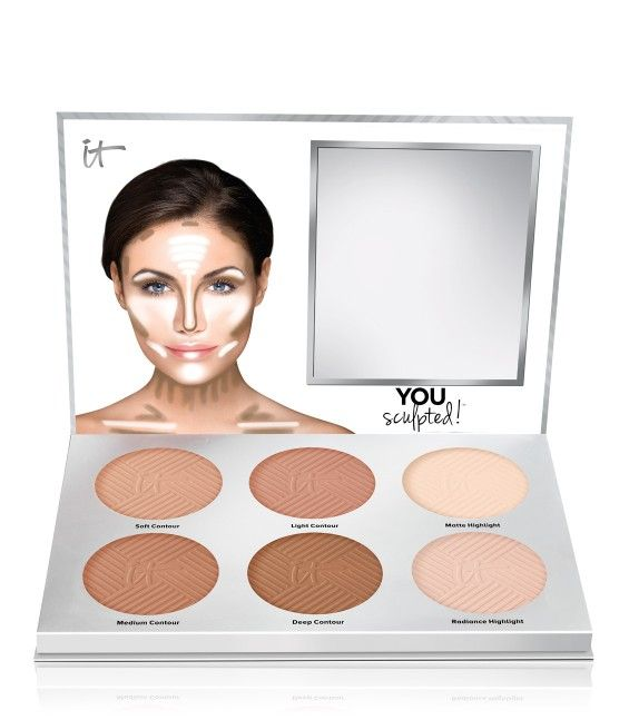 It Cosmetics You Sculpted! Universal Contouring Palette for Face and Body - New