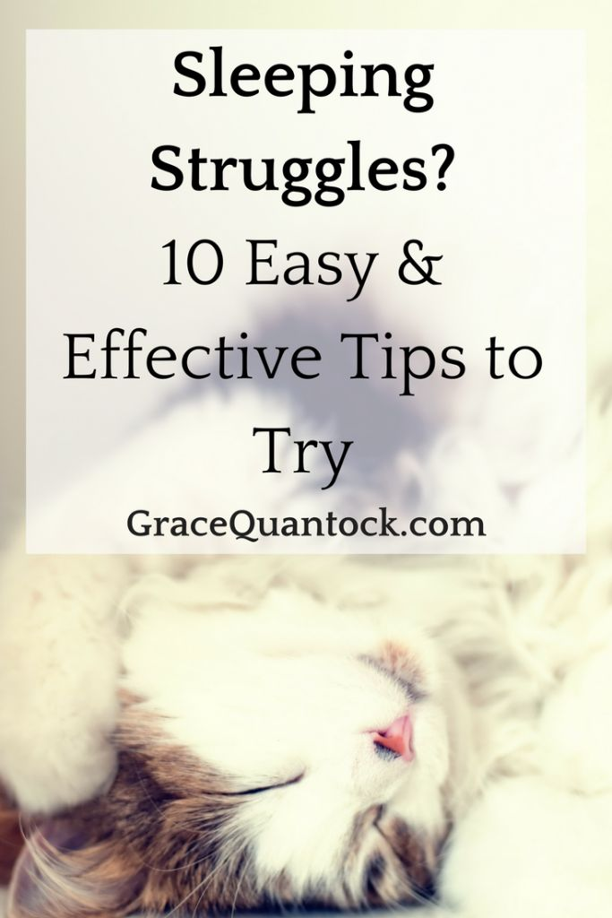 Sleeping Struggles? 10 Easy & Effective Tips to Try  Do you ever find that sleep eludes you?  For something so vital, so many of us do not get nearly enough.   So often sleep can seem like time wasted, when the to-do list is growing and the world is moving onwards, who has time for snoozing in bed?   Have you ever stayed up an hour later – just to get that task finished off?  Did you know that when you loose an hour of sleep, you don't gain an hour of productive time? Not at all, in fact