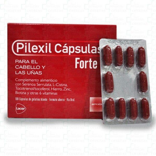 #PilexilCápsulasForte es una línea de tratamiento capilar en cápsulas para fortalecer y cuidar el cabello y las uñas. http://www.farmaciasofertas.es/pilexil-capsulas-forte-cabello-y-u-as-100-caps