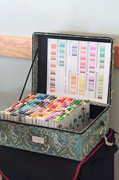 I adore the Crafts Storage newsletter! Doesn't this make your heart sing?!