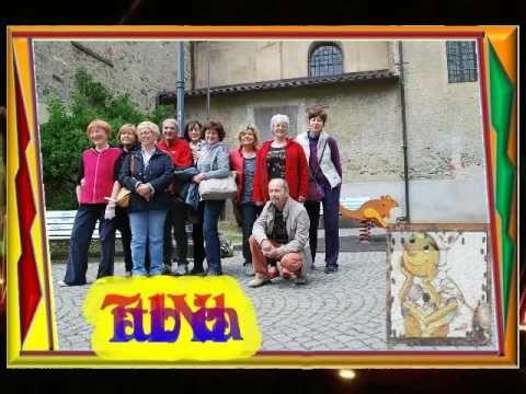 300) VIDEO Panchine dipinte soggetto Pinocchio a Rubiana - YouTube
