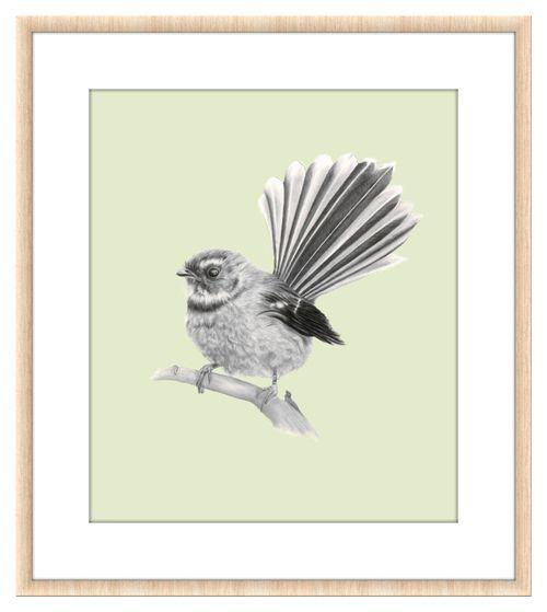 Piwakawaka | NZ Fantail by Lenita Pepa