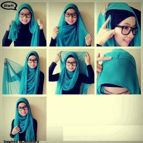 2 tutorial hijab pashmina chiffon (1)