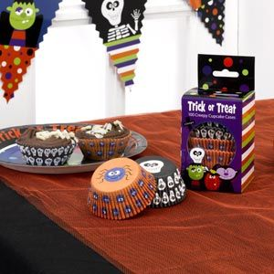 Kids Halloween Cupcake Cases