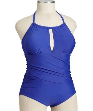 8 Flattering Plus-Size Bathing Suits.. Especially like this one