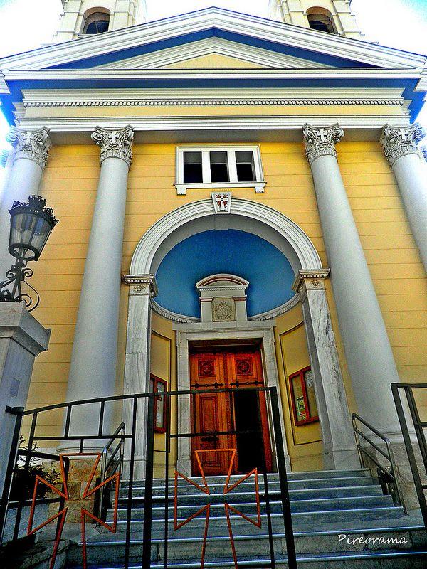 Pireorama ιστορίας και πολιτισμού: Η Καθολική εκκλησία του Πειραιά (Άγιος Παύλος)